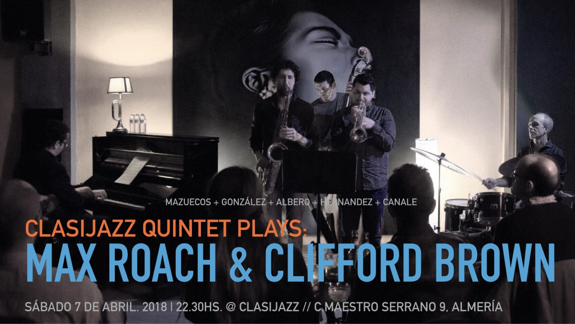 Clasijazz Quintet play Max Roach and Clifford Brown