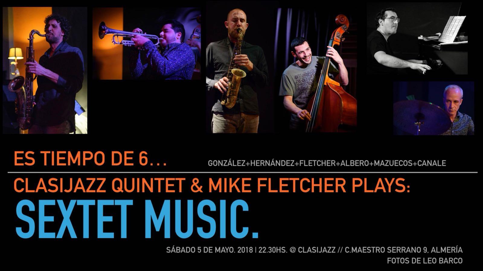 Clasijazz Quintet & Mike Fletcher plays hard bop music