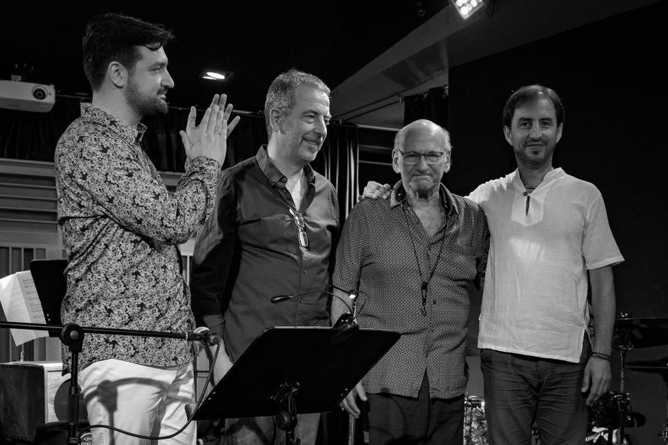 Sergio Pamies Trio featuring David Liebman