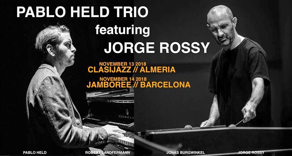 """Pablo Held Trio featuring Jorge Rossy """"Hondo encuentro"""""""