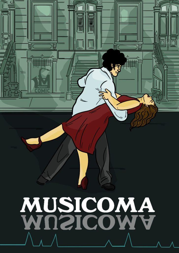 Olia Dakogianni «Musicoma». El latido del comic