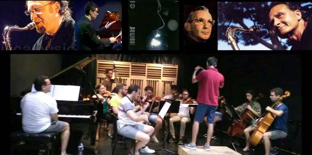 Orquesta Sinfónica FIMA & Pedro Cortejosa play Stan Getz's Focus dirigido por Duccio Bertini