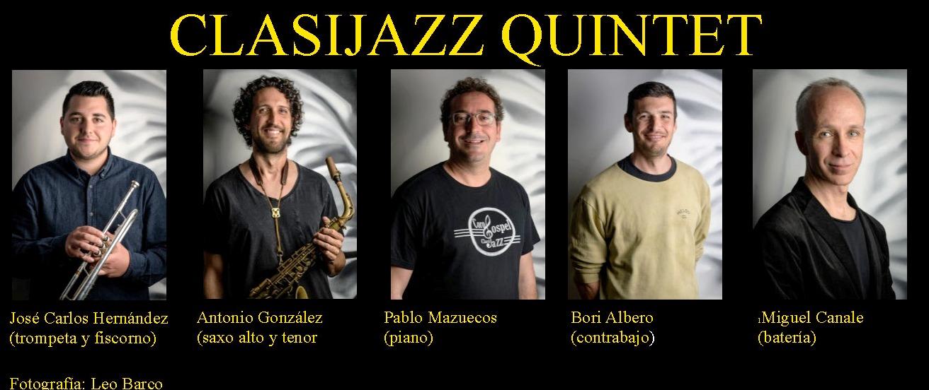 Clasijazz Quintet. Enseñar deleitando