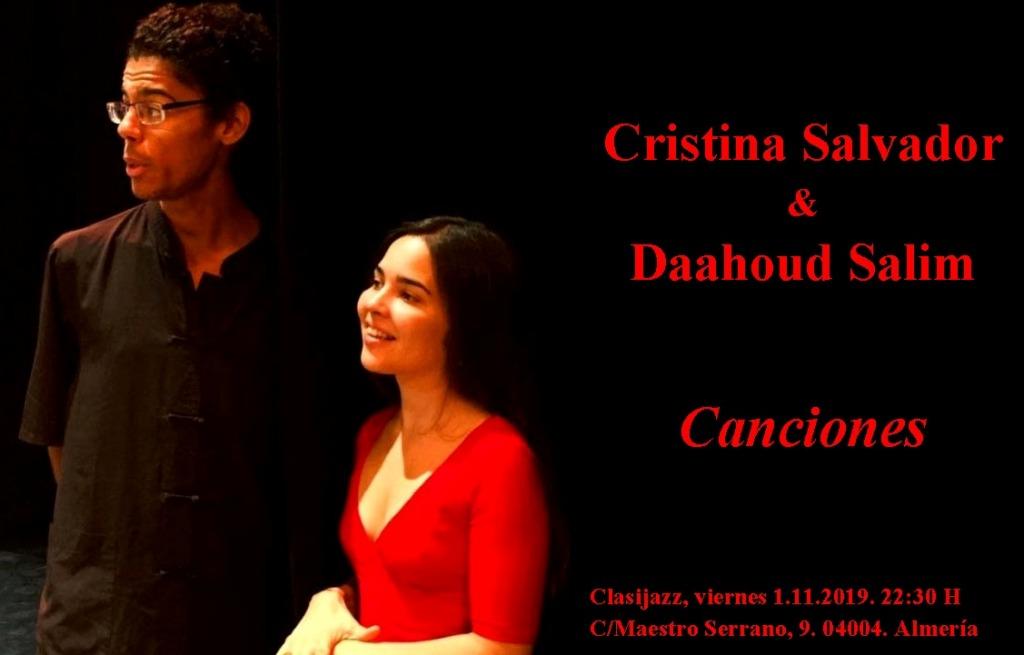 Cristina Salvador & Daahoud Salim. Canciones