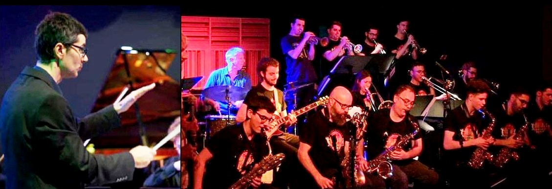 Clasijazz Big Band Swing & Funk. El regreso de Duccio Bertini
