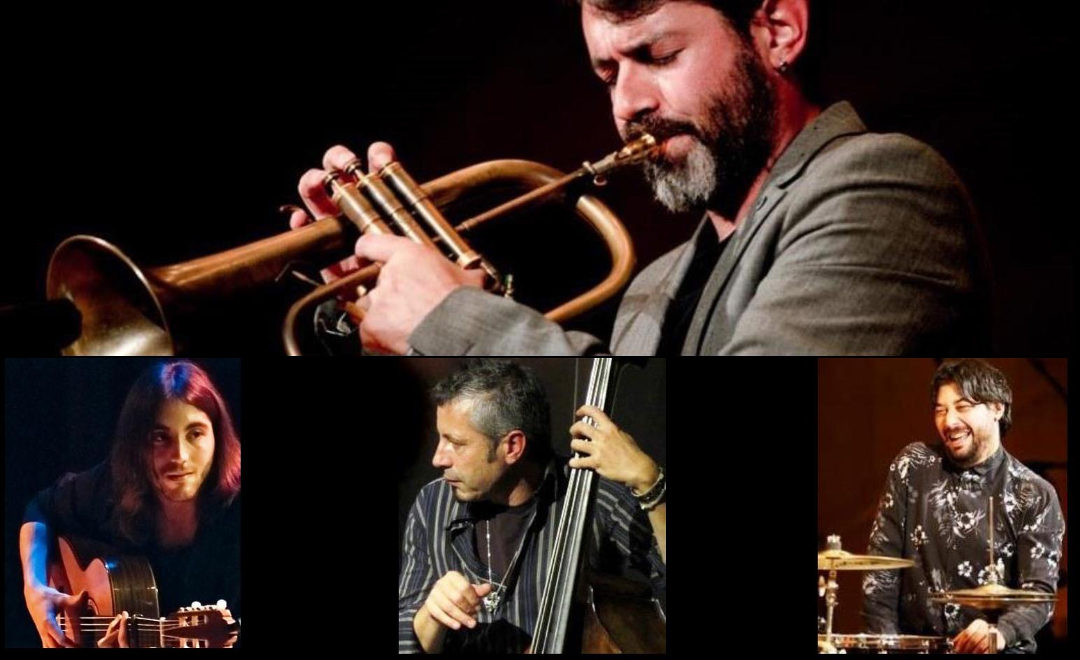 """Enriquito Flamenco Quartet. """"Una trompeta flamenca"""""""