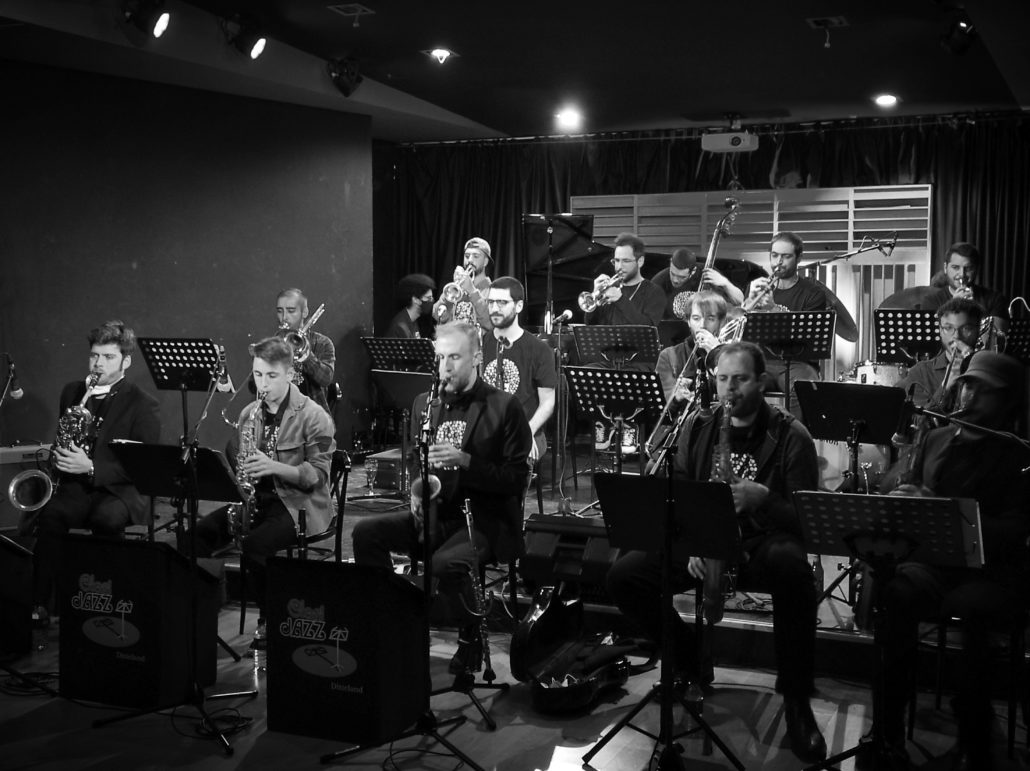 Rehearsal and second concert of CJBb Pro. January 15th.