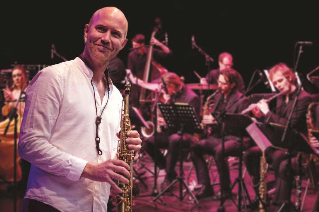 Clasijazz Big Band Profesional plays Bernard van Rossum Music. «Pura raza mestiza»