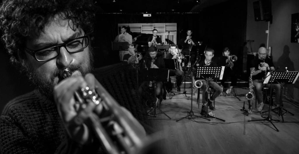 Clasijazz Big Band Profesional & Voro García. «Postbop Big Band Arrangements»