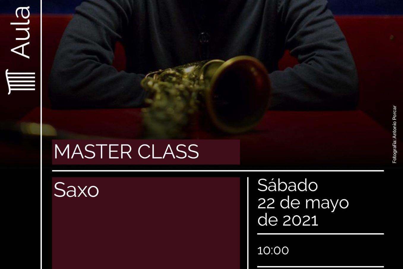 Máster Class: saxo alto. Víctor Jiménez
