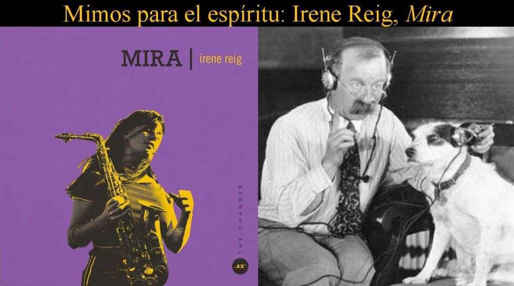 Irene Reig. «Mira». La tentación del 'sax trio'